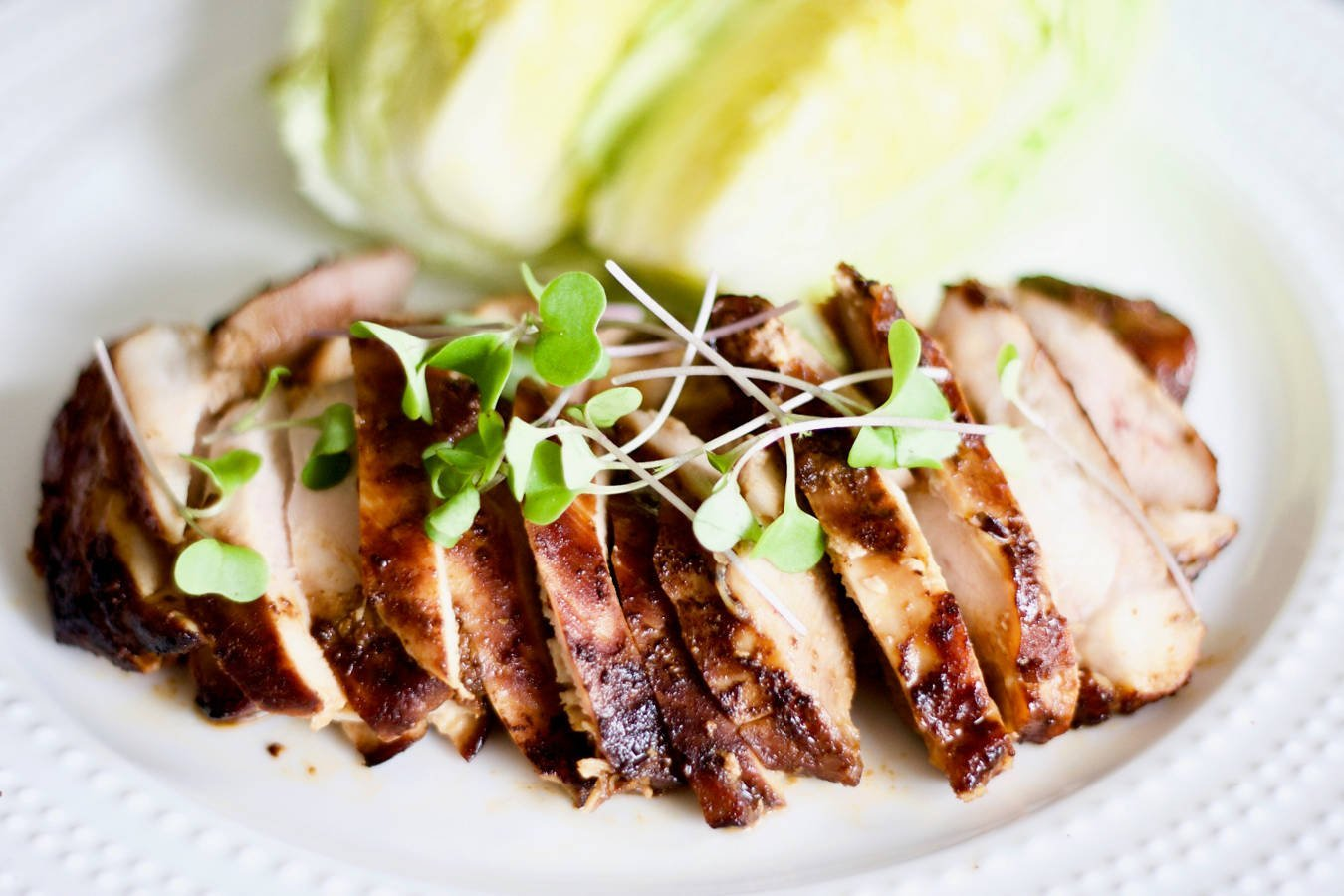 the most tender marinated chicken