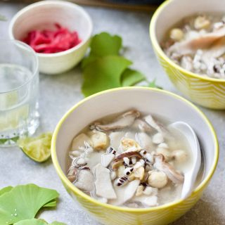 Adrenal Support Chinese Herbs And Pig Stomach Soup (四神汤)