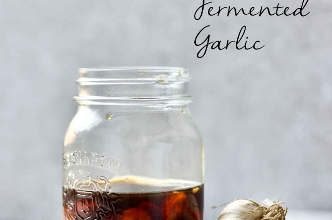 Honey fermented garlic can be used to combat cold and flu in the winter season or simply as a condiment to add a sweet garlicky flavour to any dish.