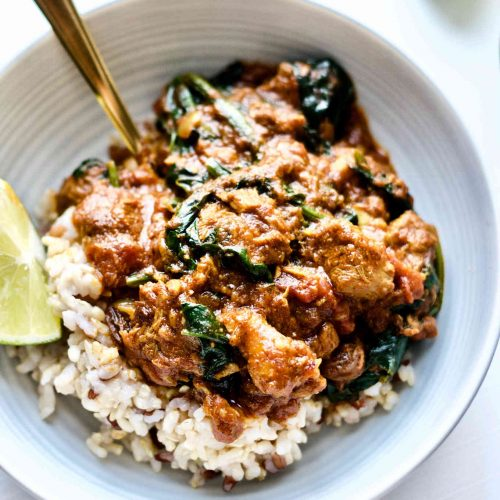 Nourishing Lamb And Spinach Curry