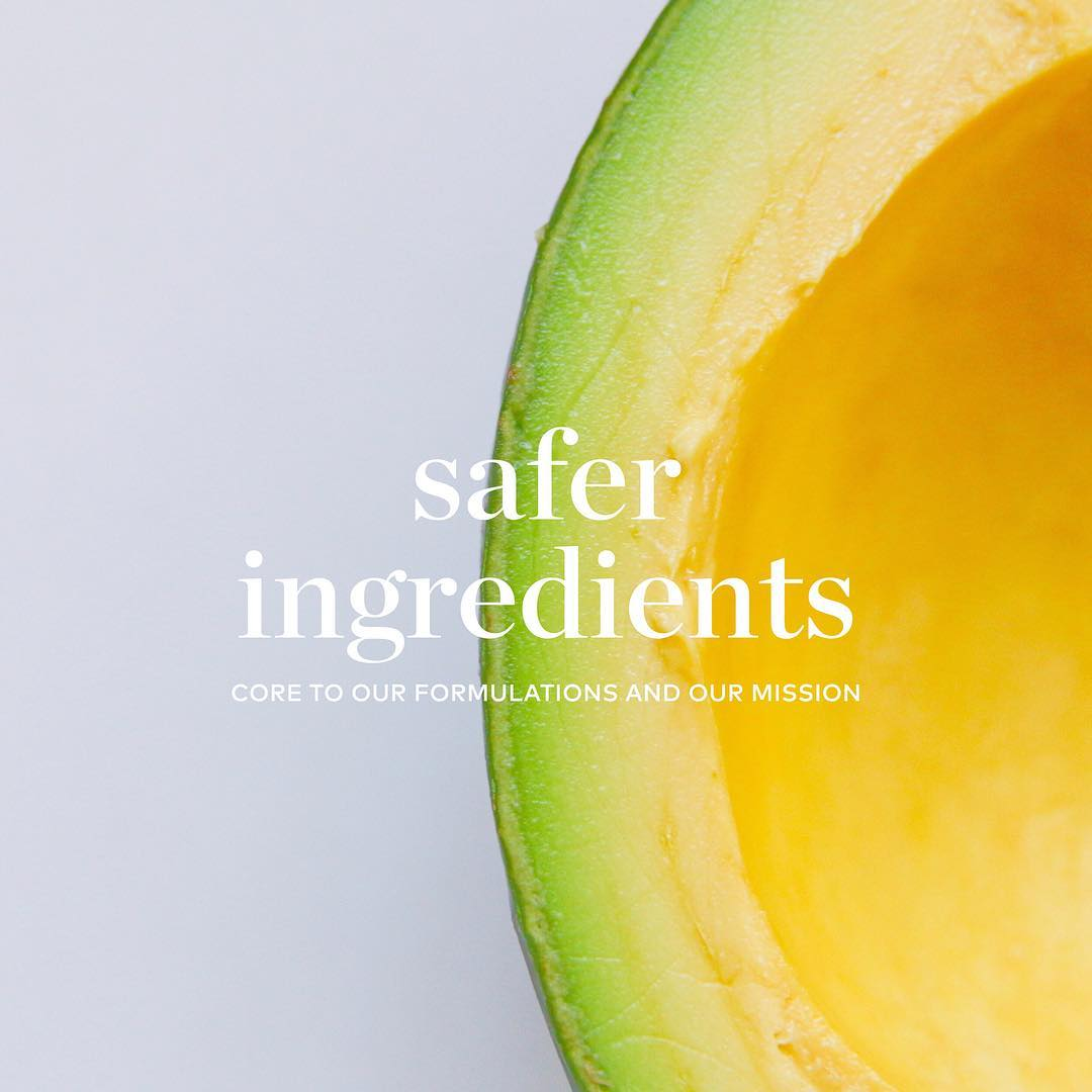 safer ingredients in Beautycounter products.