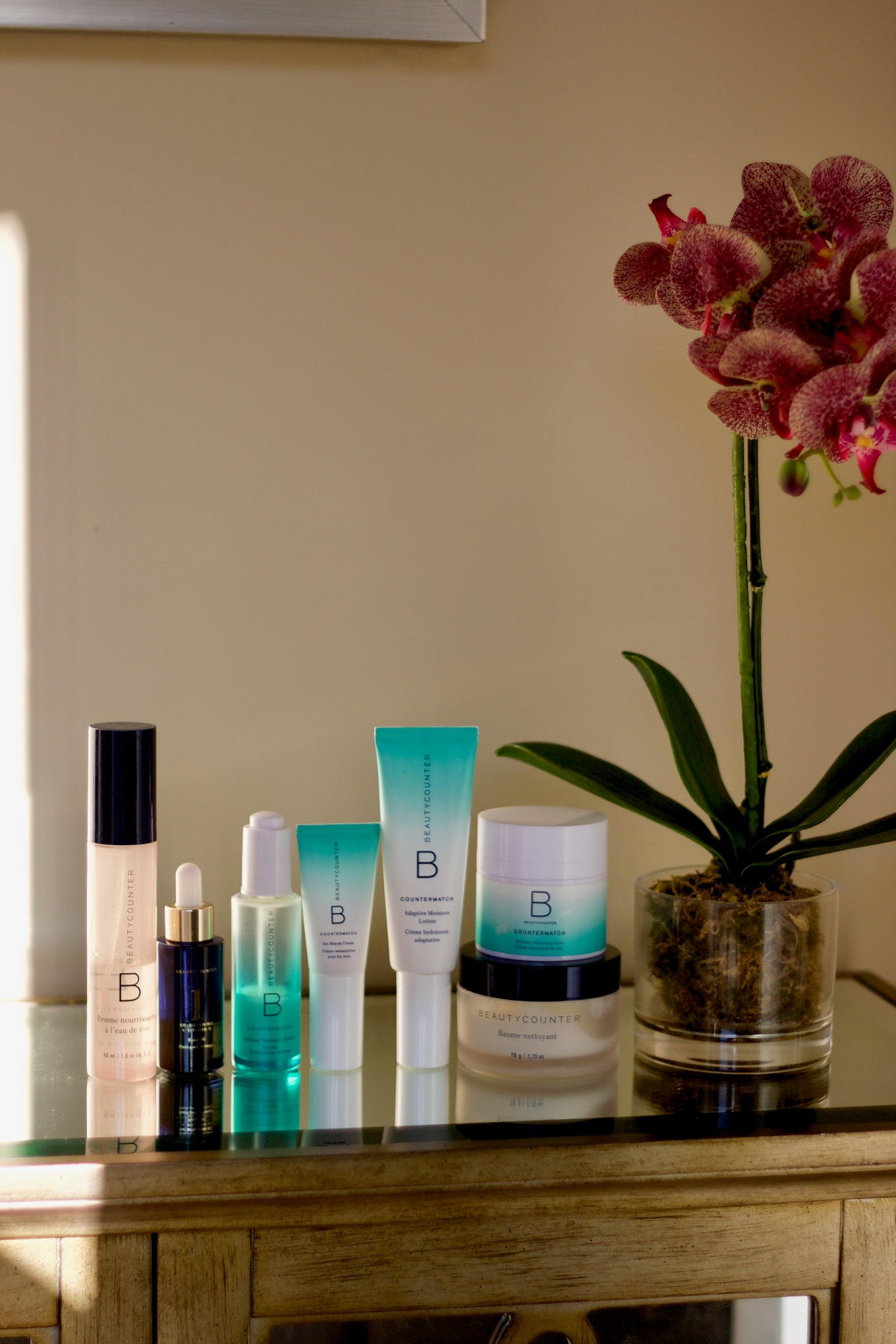 my favourite safer skincare products from Beautycounter for sensitive dry skin.