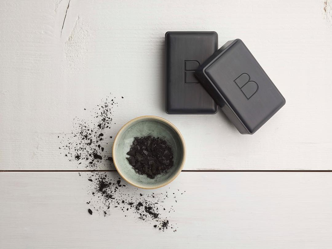Beautycounter's charcoal cleansing bar is super gentle for my sensitive dry skin, while detoxifies and reduces breakouts.