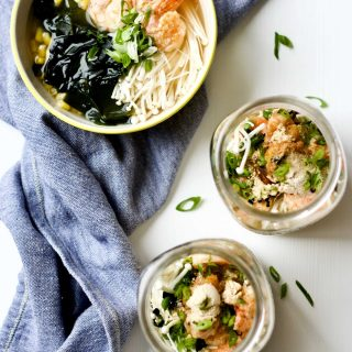 Asian Seafood Bone Broth Instant Noodle Jar