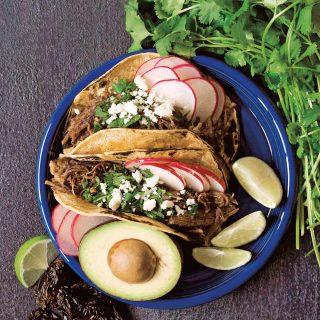Shredded Chipotle Beef Tacos + Giveaway: Amazing Mexican Favorites with Your Instant Pot