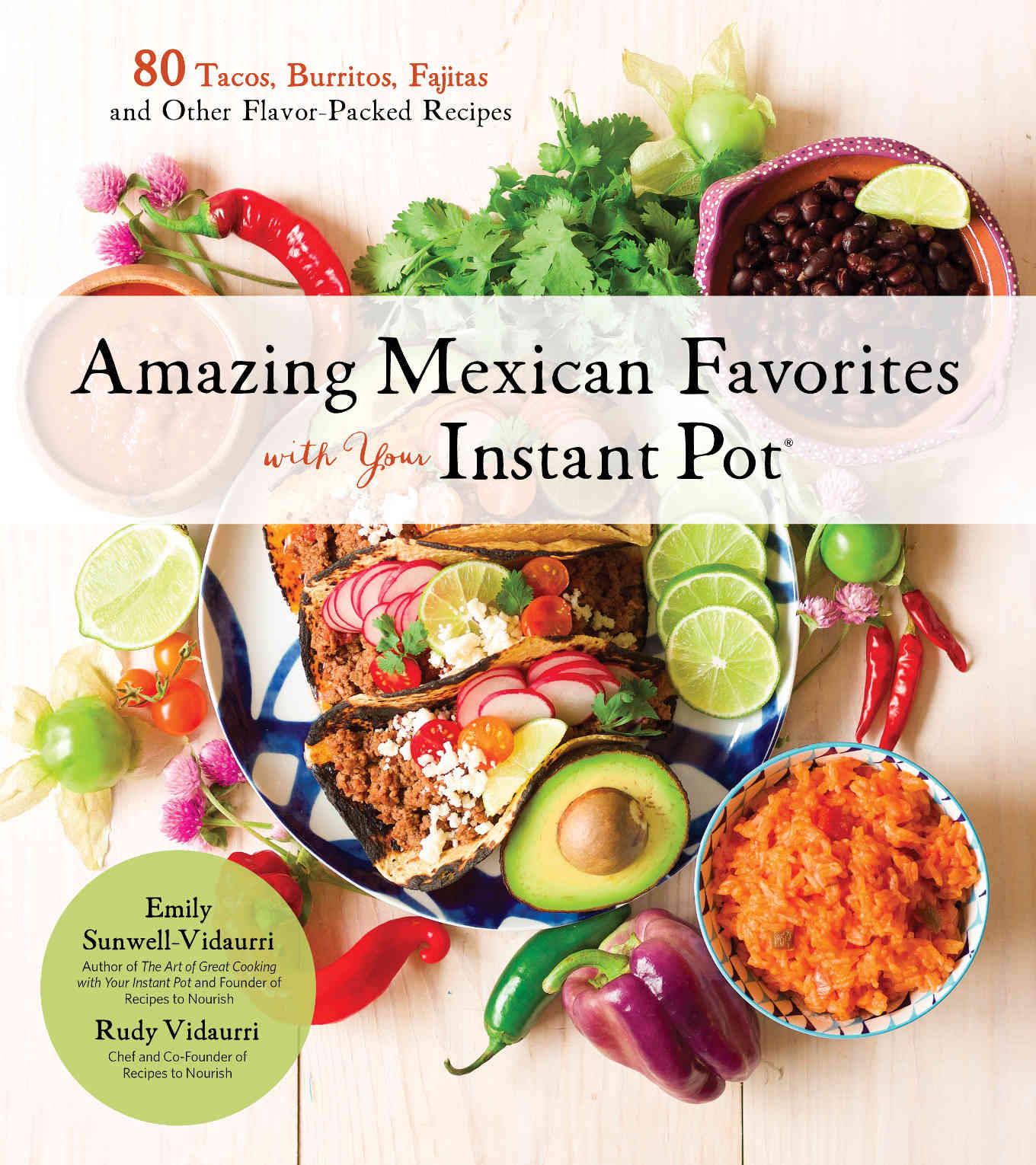 Book cover of Amazing Mexican Favorites with Your Instant Pot