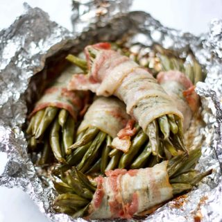 Keto Bacon-Wrapped Green Beans