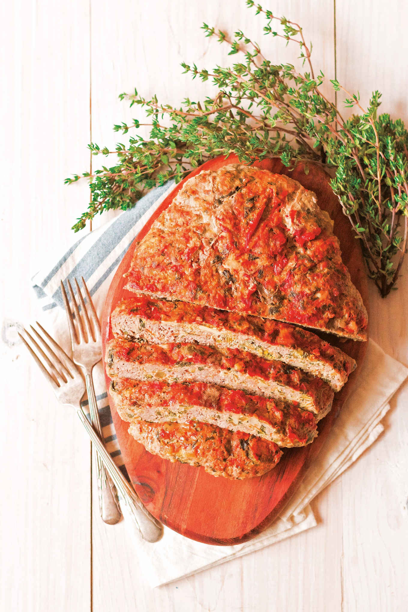 Cheesy veggie-stuffed meatloaf from the low-carb cooking with your instant pot cookbook.