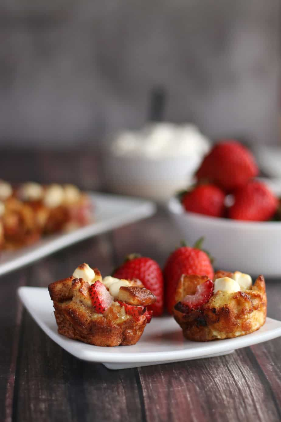 """strawberry French toast muffin cups"" of best keto breakfast recipes"