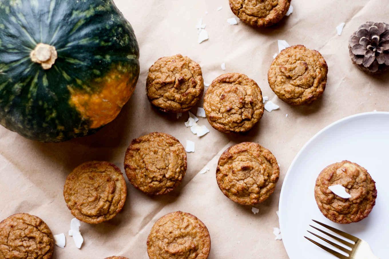 Paleo coconut Kabocha squash muffins