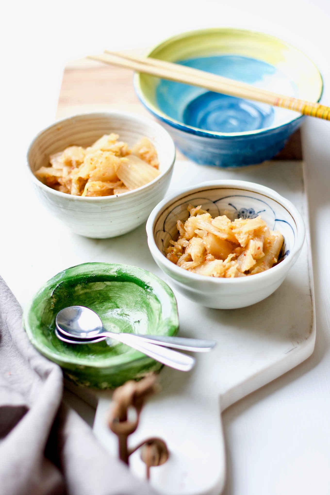 kimchi as appetizer