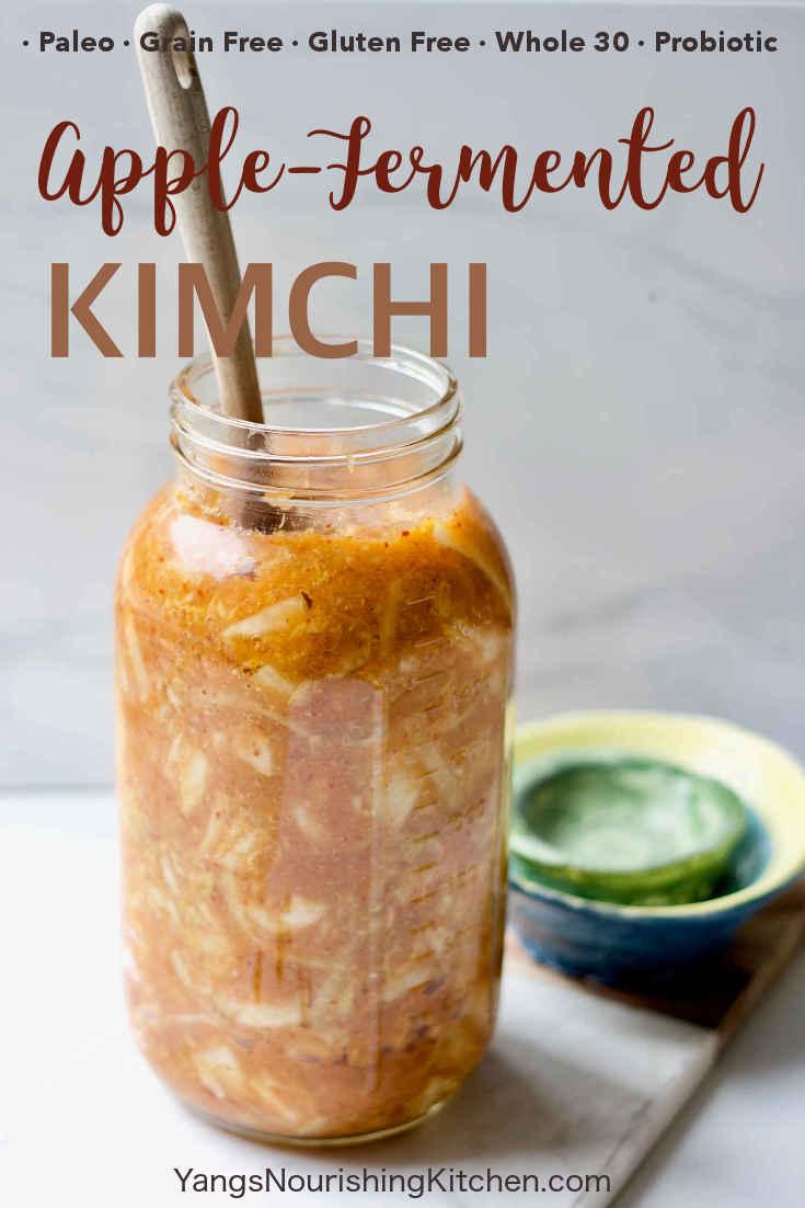 Paleo Apple-Fermented Kimchi