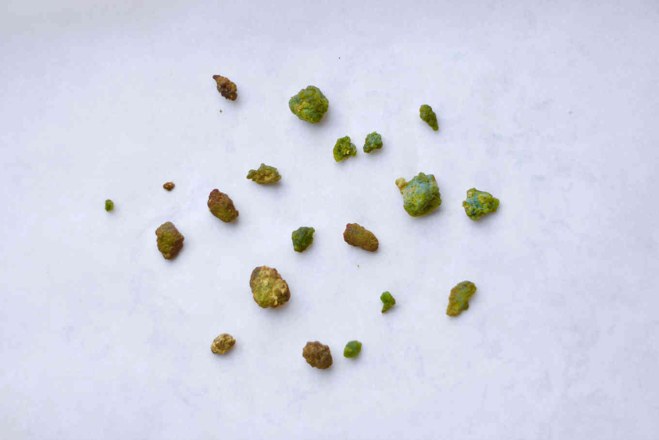 Gallstones from liver and gallbladder flush