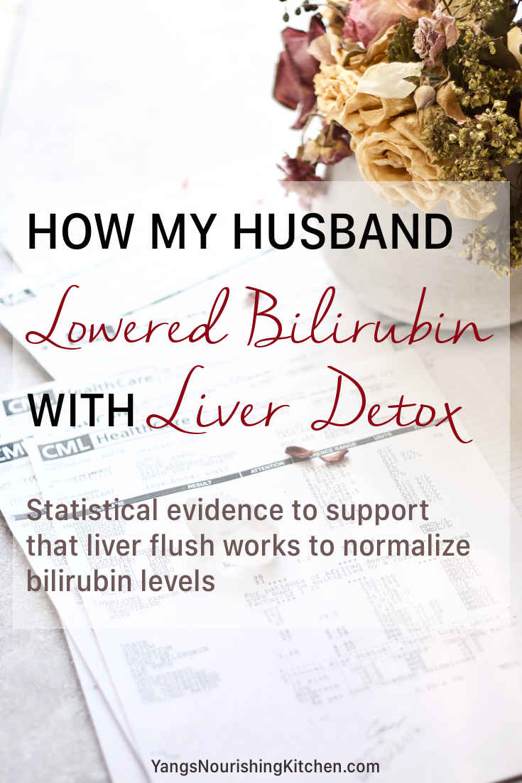 How My Husband Lowered Bilirubin with Liver Detox