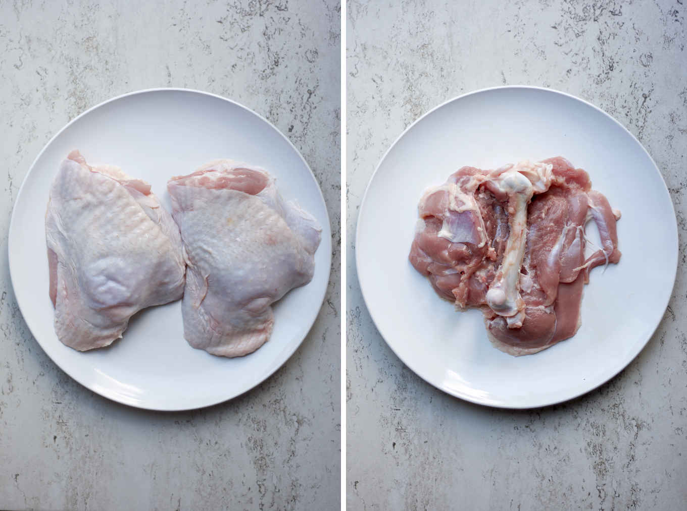 how to debone a turkey thigh