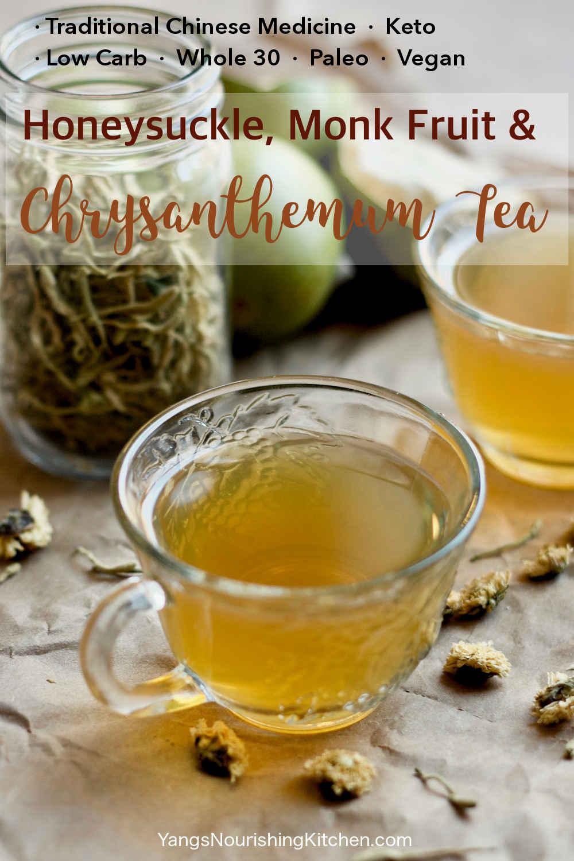 Honeysuckle, Monk Fruit and Chrysanthemum Tea