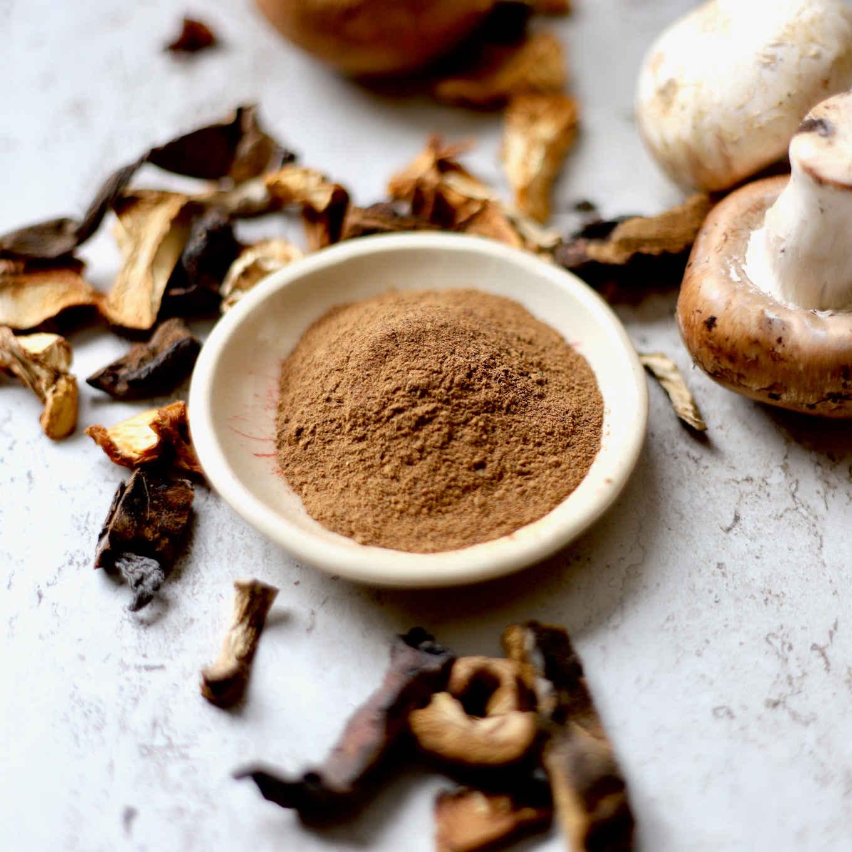 spiced mushroom powder